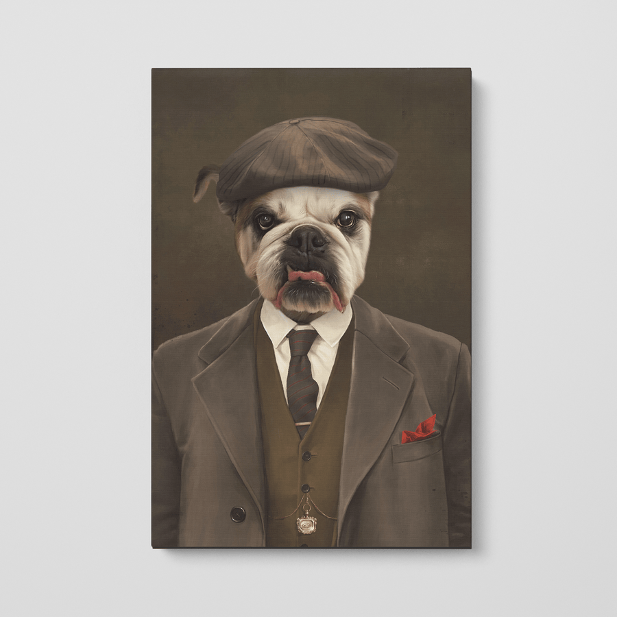 The Peaky Blinder - Custom Pet Canvas