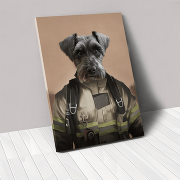 The Pilot - Custom Pet Canvas