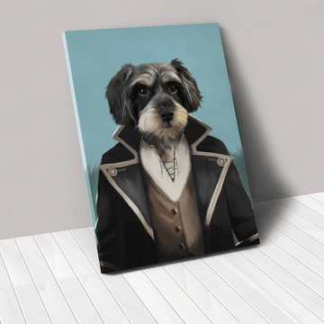 The Pirate - Custom Pet Canvas