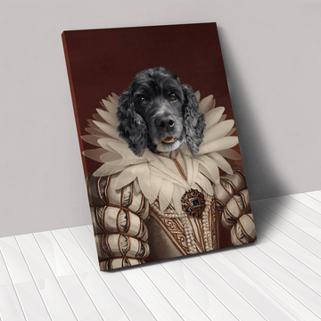 The Queen - Custom Pet Canvas