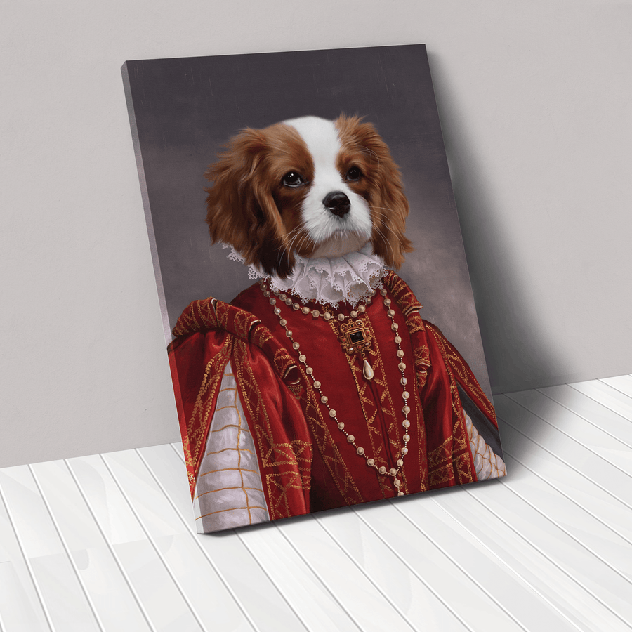 The Queen of Roses - Custom Pet Canvas