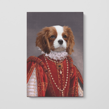Load image into Gallery viewer, The Queen of Roses - Custom Pet Canvas