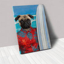 Load image into Gallery viewer, The Surfer - Custom Pet Canvas