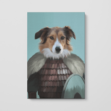 Load image into Gallery viewer, The Viking - Custom Pet Canvas