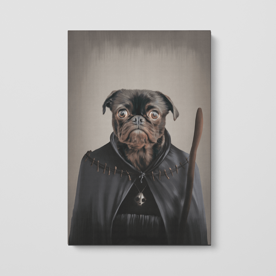 The Witch - Custom Pet Canvas