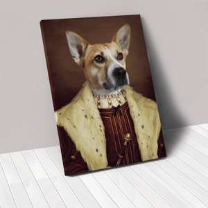 The Young King - Custom Pet Canvas