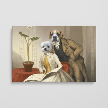 The Betrothed - Custom Pet Canvas