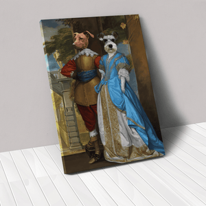 The Fancy Date - Custom Pet Canvas