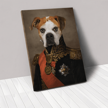 Load image into Gallery viewer, The Major - Custom Pet Canvas