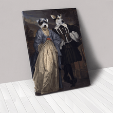 Load image into Gallery viewer, The Midnight Stroll - Custom Pet Canvas