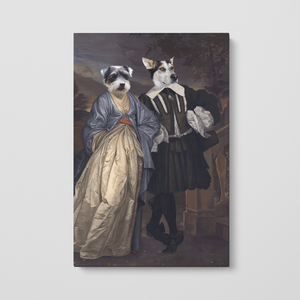The Midnight Stroll - Custom Pet Canvas