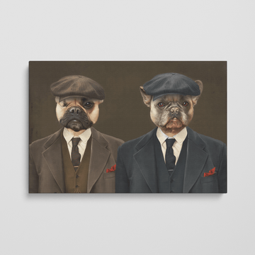 The Peaky Brothers - Custom Pet Canvas