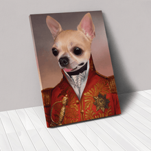 Load image into Gallery viewer, The Red General - Custom Pet Canvas