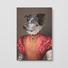 Load image into Gallery viewer, The Red Rose - Custom Pet Canvas