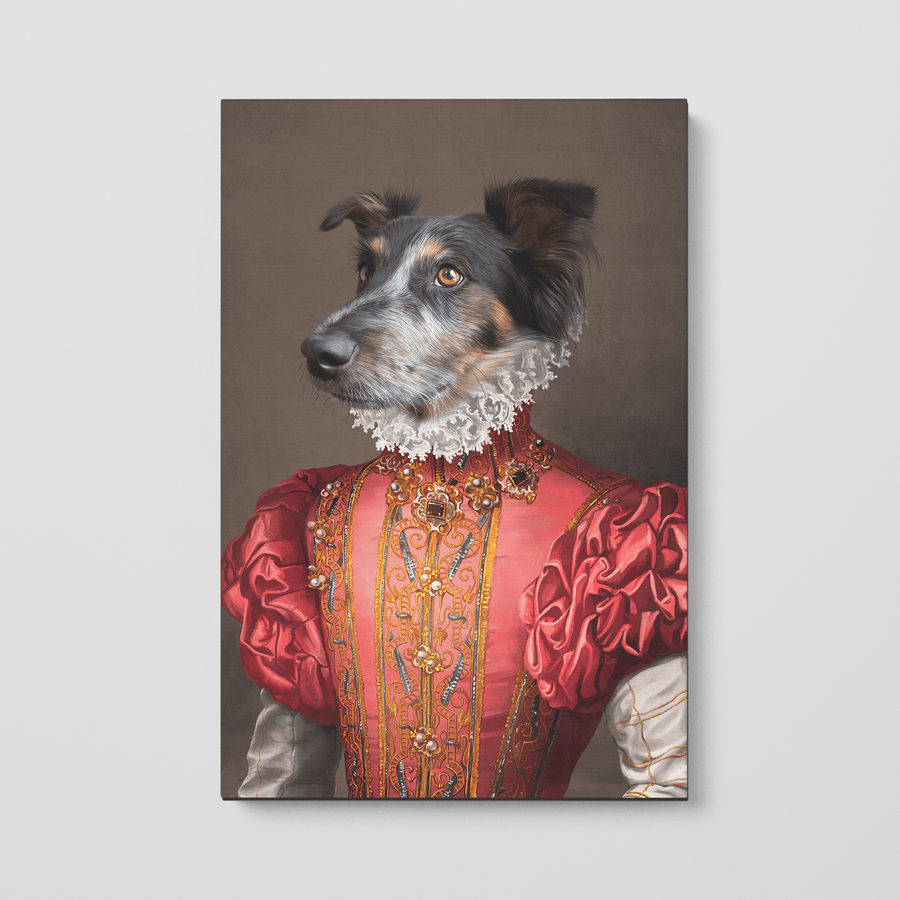 The Red Rose - Custom Pet Canvas