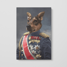 Load image into Gallery viewer, The Sergeant - Custom Pet Canvas