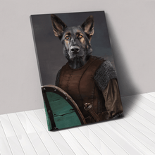 Load image into Gallery viewer, The Shieldmaiden - Custom Pet Canvas