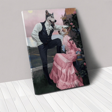 The Smooth Talkers - Custom Pet Canvas