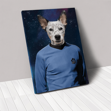 The Trekkie - Custom Pet Canvas