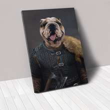 Load image into Gallery viewer, The Viking Leader - Custom Pet Canvas