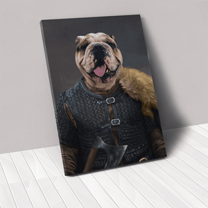 The Viking Leader - Custom Pet Canvas