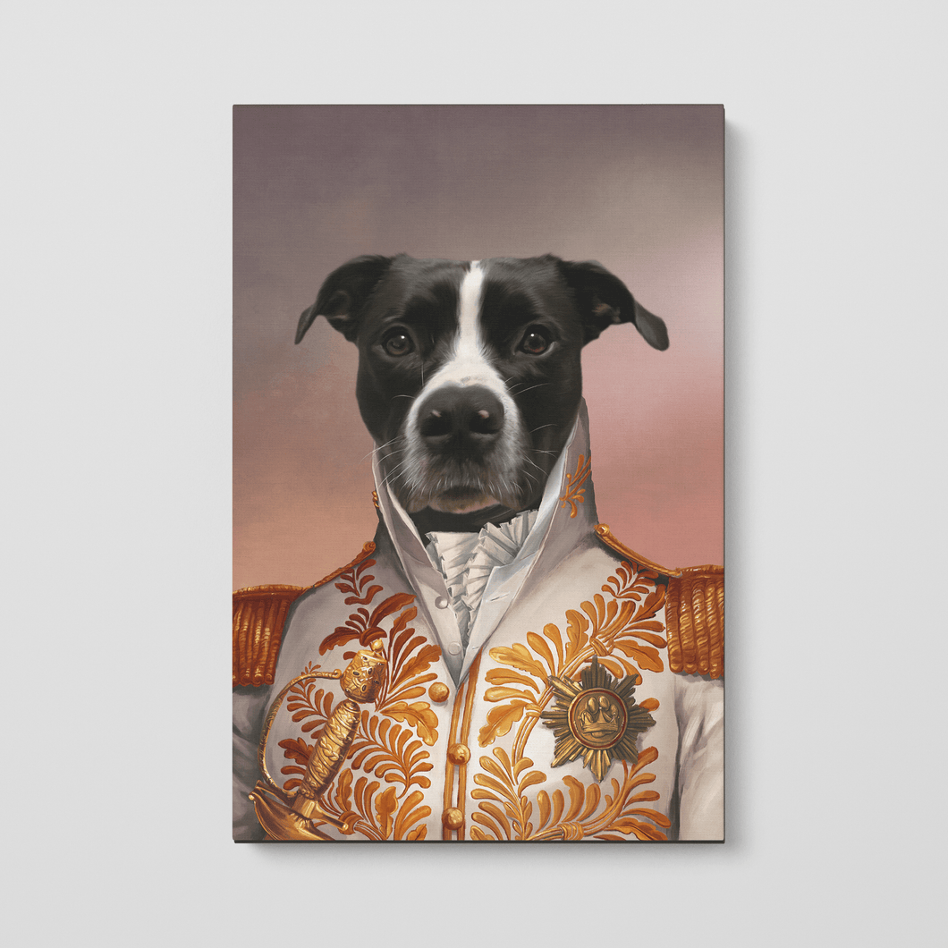 The White General - Custom Pet Canvas