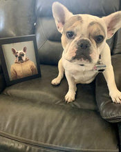 Load image into Gallery viewer, The Georgie - Custom Pet Canvas