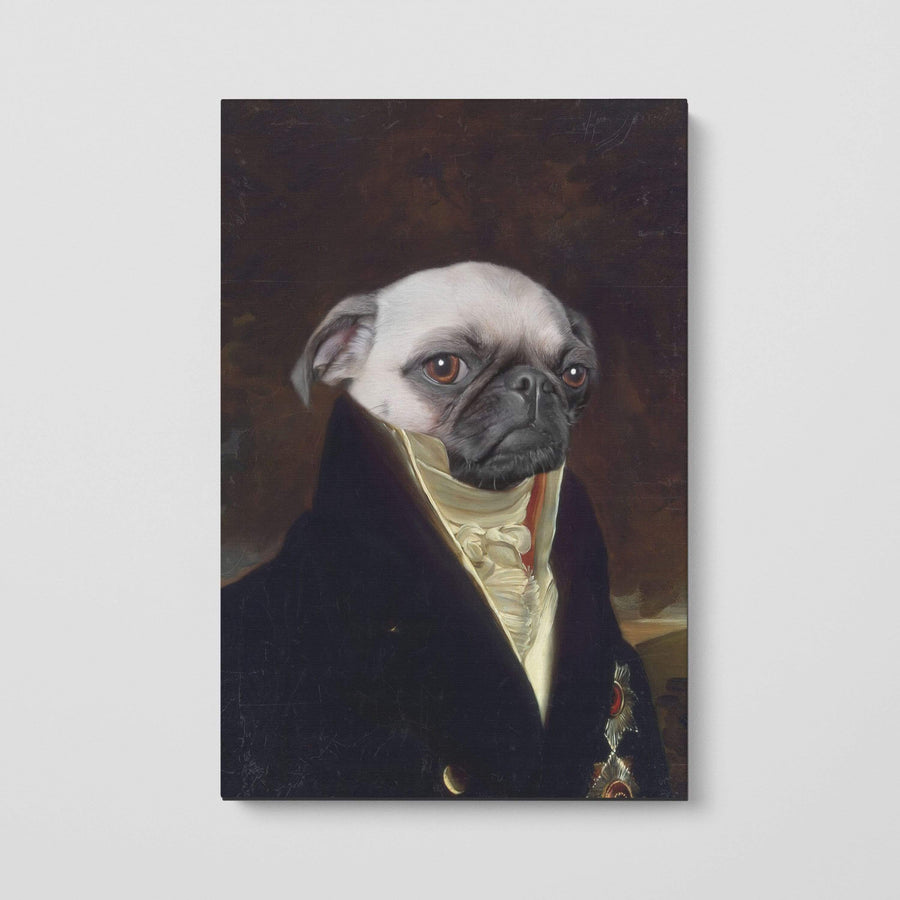 The Count - Custom Pet Canvas