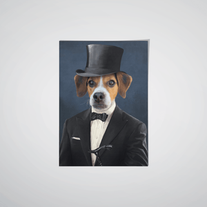 The Gentleman - Custom Pet Poster