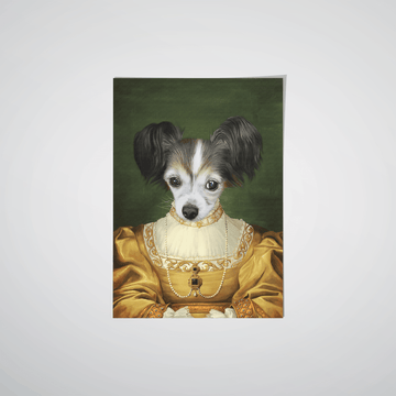 The Golden Girl - Custom Pet Poster