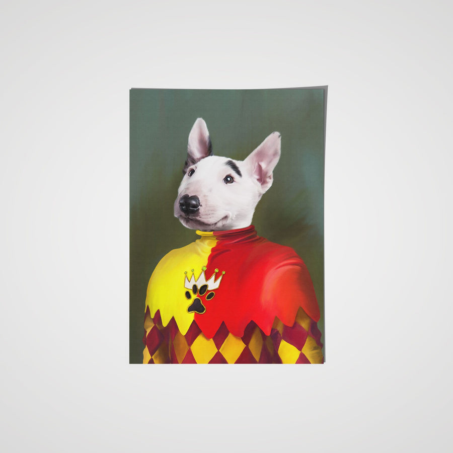The Jester - Custom Pet Poster