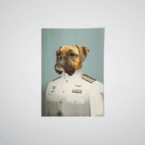 The Male Coastguard - Custom Pet Poster