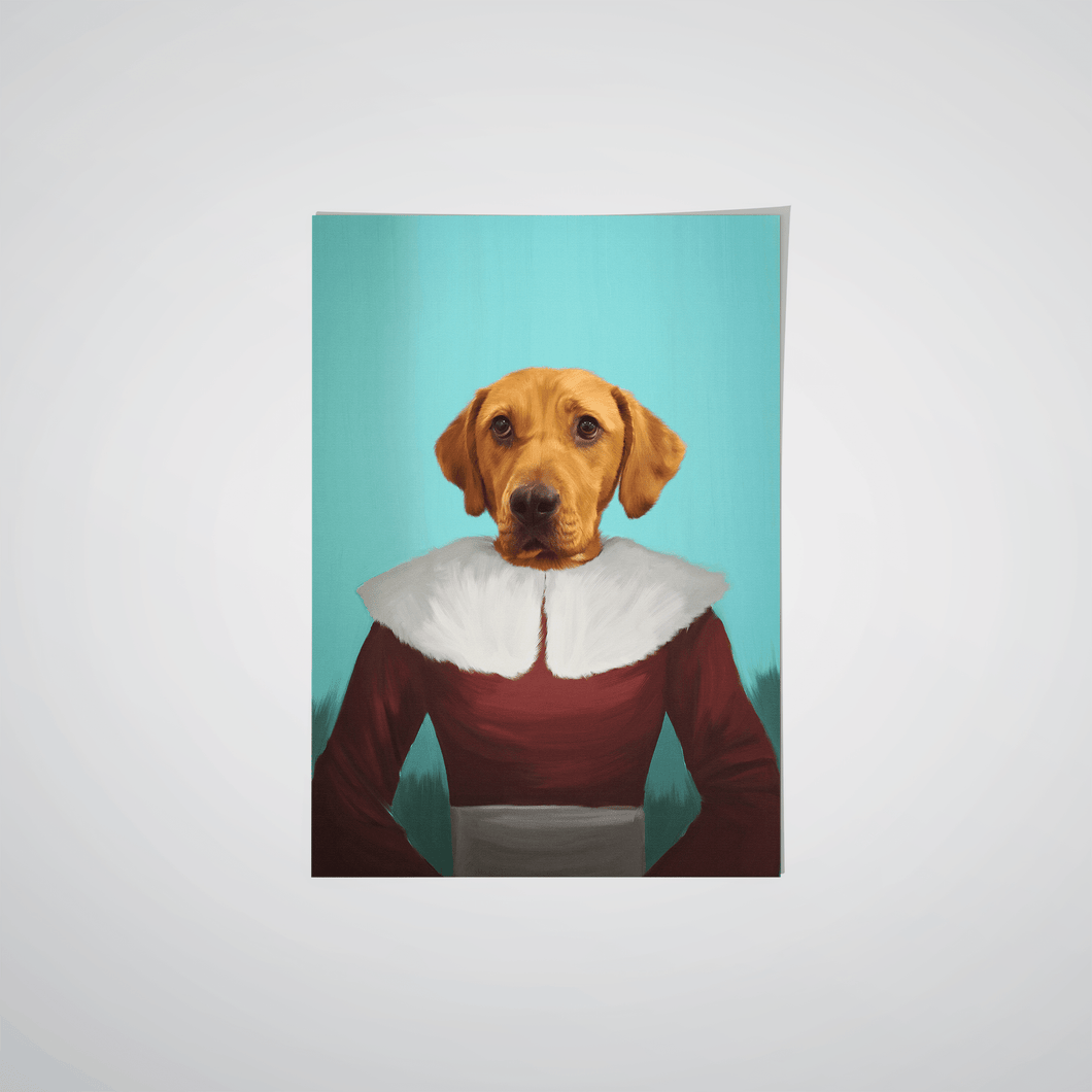 Mrs Claus - Custom Pet Poster