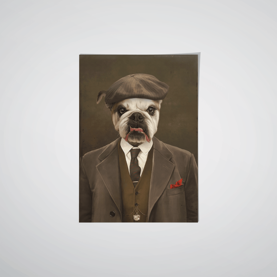 The Peaky Blinder - Custom Pet Poster