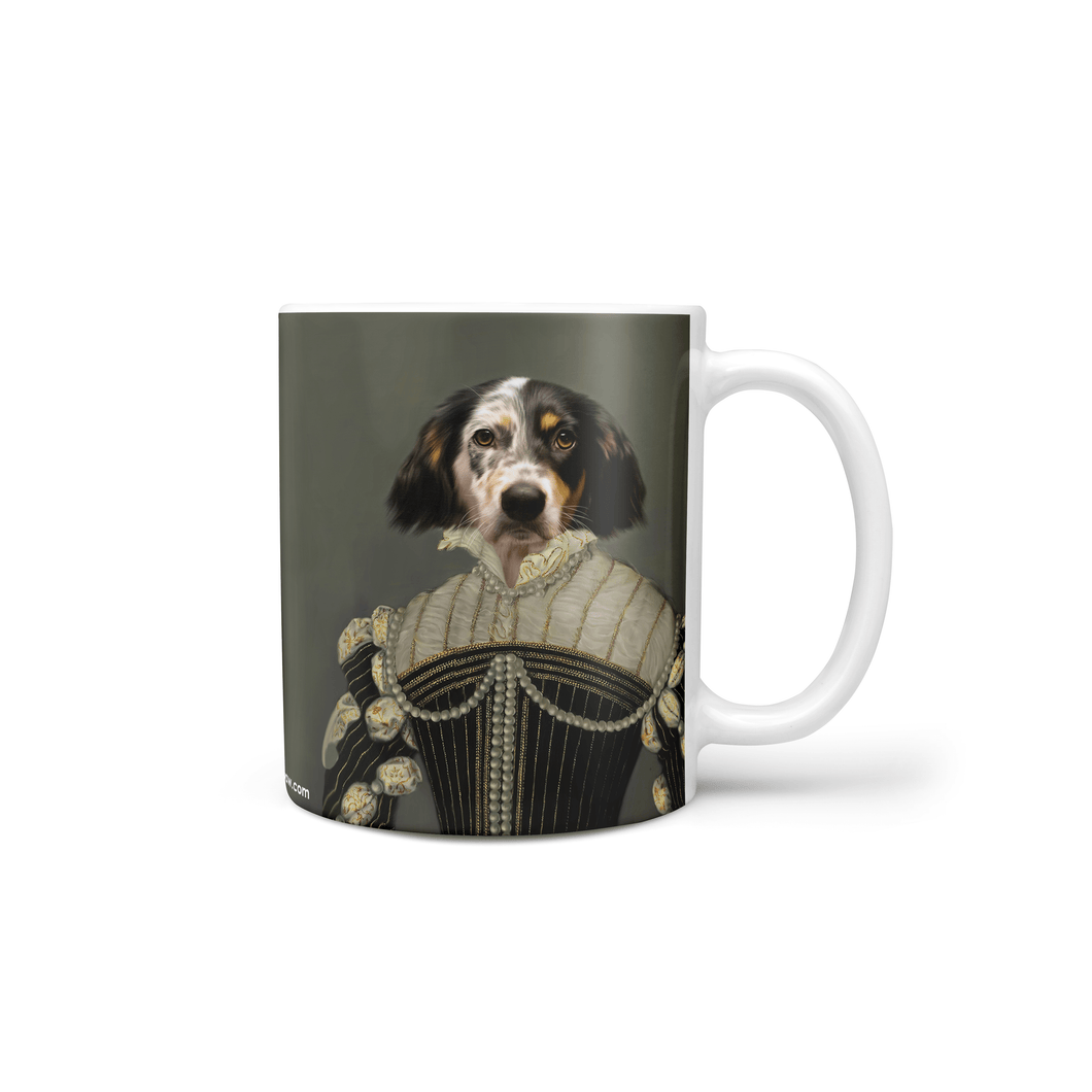 The Pearled Lady - Custom Mug