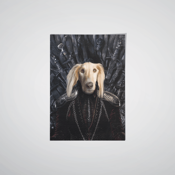 The Queen of the Seven Kingdoms - Custom Pet Poster