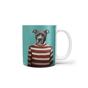 Red Candy Cane - Custom Mug