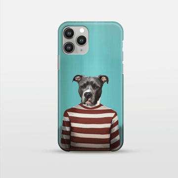 The Red Candy Cane - Custom Pet Phone Case
