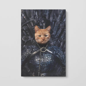 The Lady of the North - Custom Pet Canvas