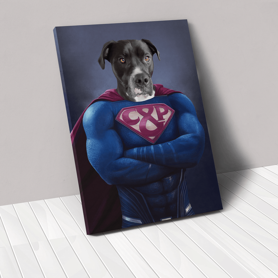 Supawman - Custom Pet Canvas