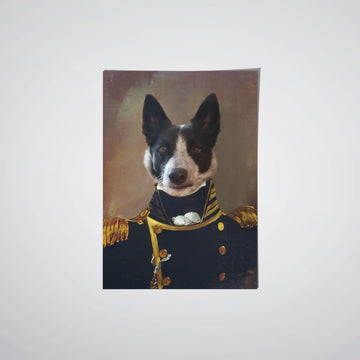 The Admiral - Custom Pet Poster