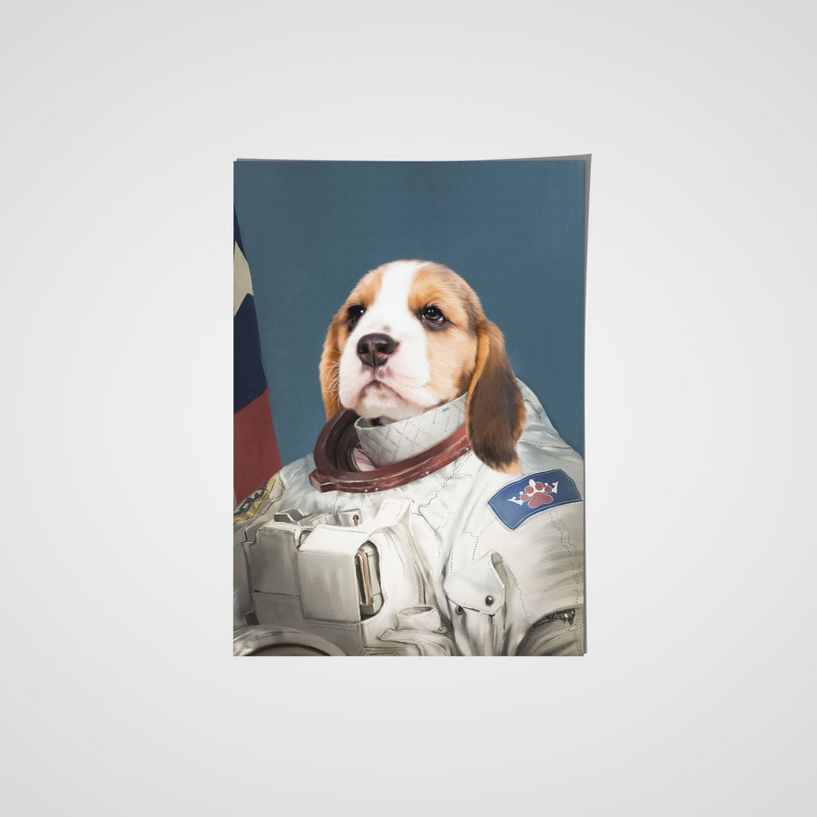 The Astronaut - Custom Pet Poster