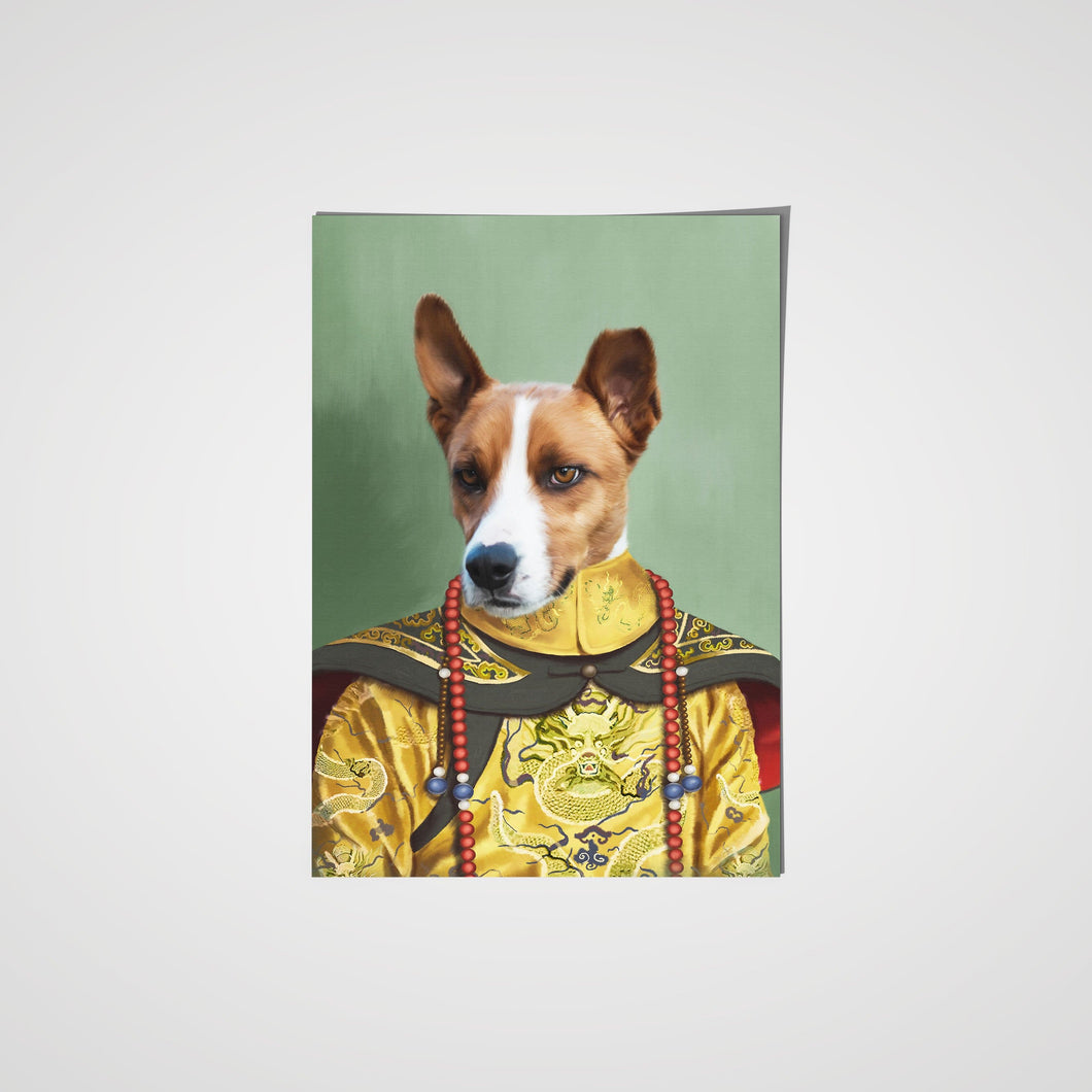 The Chinese Emperor - Custom Pet Poster