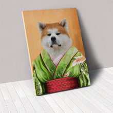 Load image into Gallery viewer, The Geisha - Custom Pet Canvas