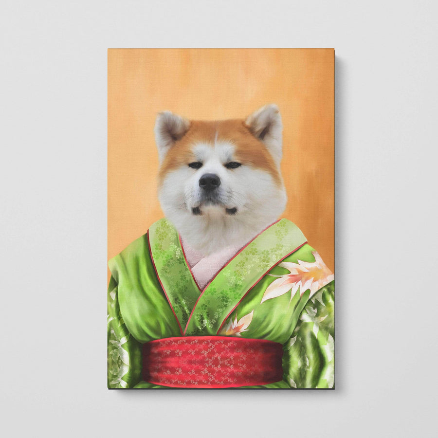 The Geisha - Custom Pet Canvas