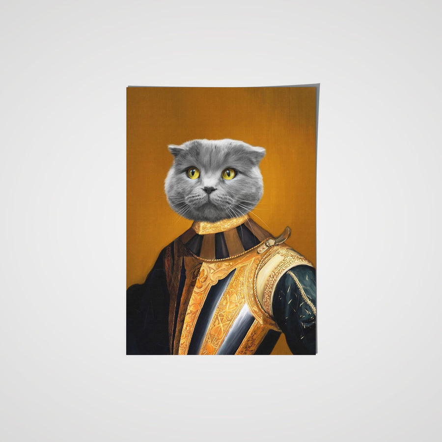 The Knight - Custom Pet Poster
