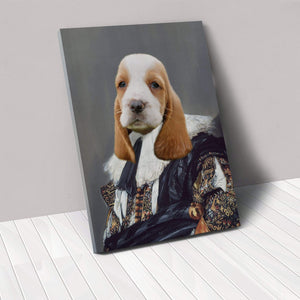 The Laughing Cavalier - Custom Pet Canvas