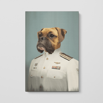 The Male Coastguard - Custom Pet Canvas