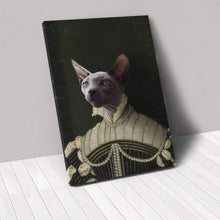 Load image into Gallery viewer, The Pearled Lady - Custom Pet Canvas