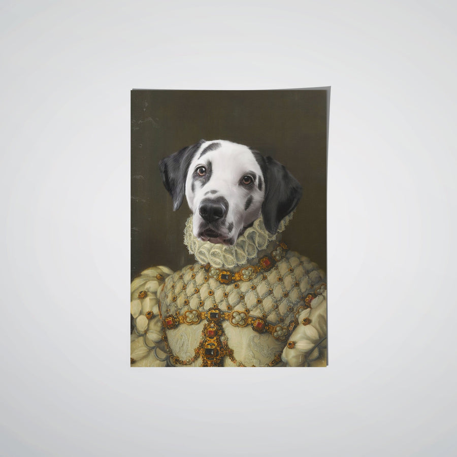 Bulldog puppy poster A2 SIZE Just wanna be Loved